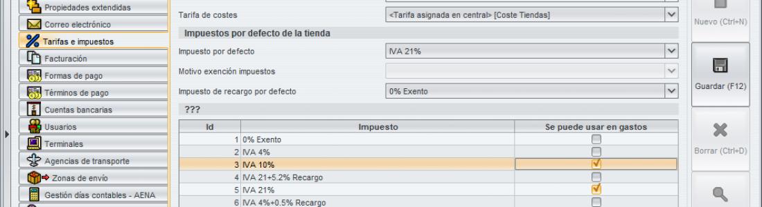 Gestión de pedidos de clientes en CástorRetail