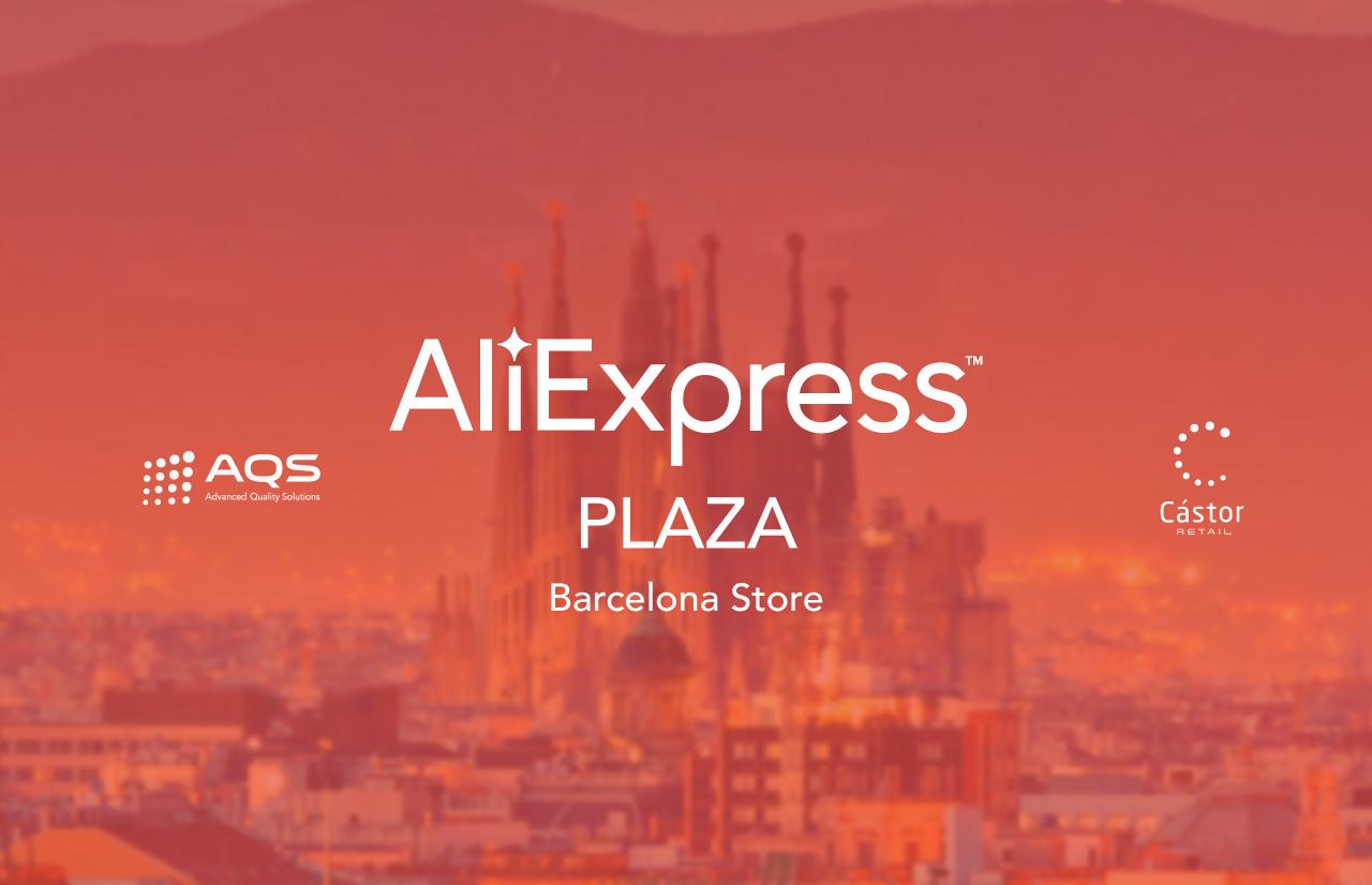 CástorRetail, el software de AQS, gestiona la nueva tienda de Aliexpress que se inaugura hoy en Barcelona